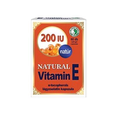Natúr E-vitamin 200 IU Kapszula 60db Dr. Chen