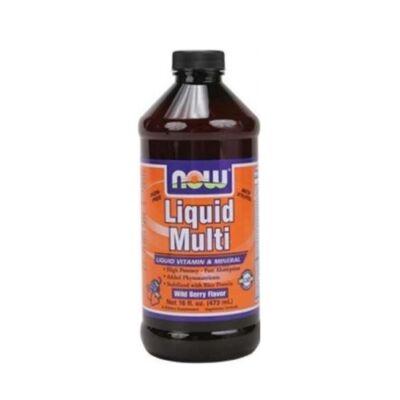Now Liquid Multi Erdei Gyümölcs Ízű Folyékony Multivitamin 473ml