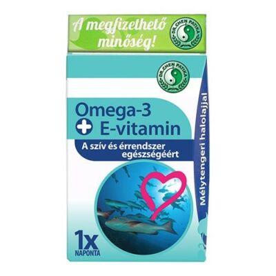 Omega-3 + E-vitamin Kapszula 30db Dr. Chen