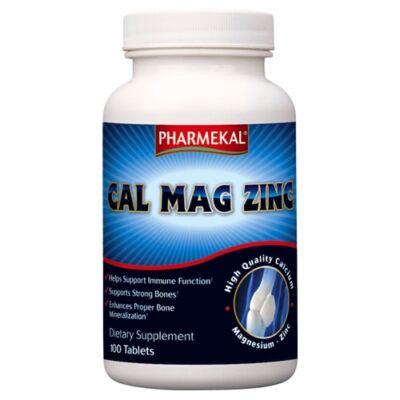 Pharmekal Cal-Mag-Zinc tabletta 100db