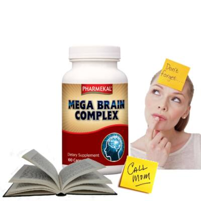 Pharmekal MEGA BRAIN kapszula a megfelelő agyműködésért 100db