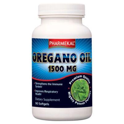 Oregano olaj lágyzselatin kapszula 90db Pharmekal