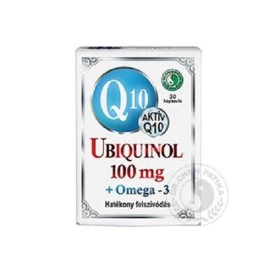 Q10 Ubiquinol 100 Mg Omega-3 Lágyzselatin kapszula 30db Dr. Chen