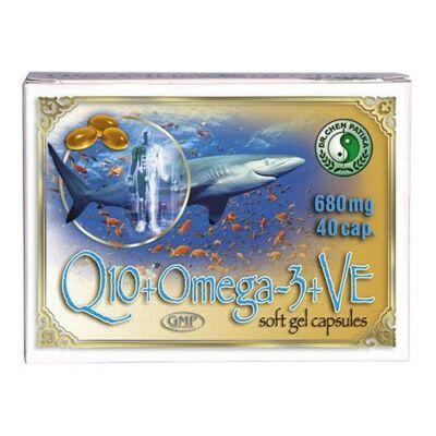 Q10+Omega-3 + E-vitamin kapszula 40db  Dr. Chen