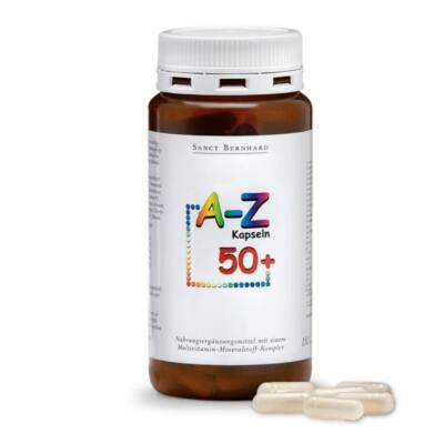 Sanct Bernhard A-Z 50+ Multivitamin kapszula 150 db