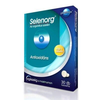 Selenorg organikus szelén tabletta 30db