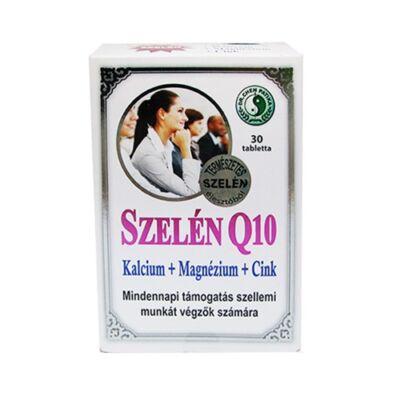 Szelén Q10 Kalcium + Magnézium + Cink Tabletta 30db Dr. Chen
