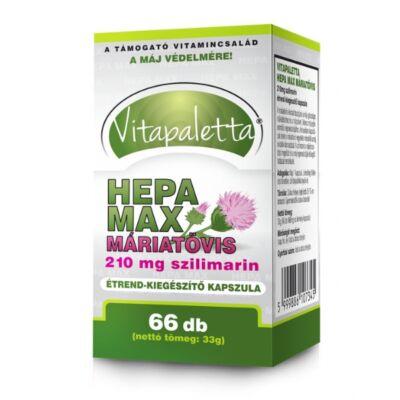 VITAPALETTA HEPA MAX kapszula 66db