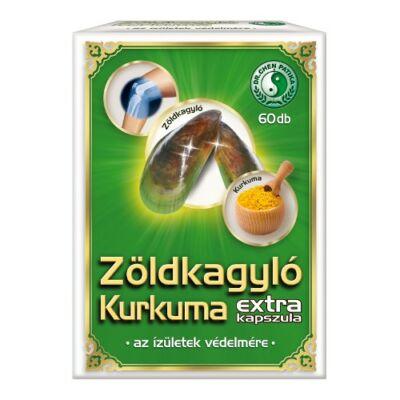 Zöldkagyló Kurkuma Extra Kapszula 60db Dr. Chen