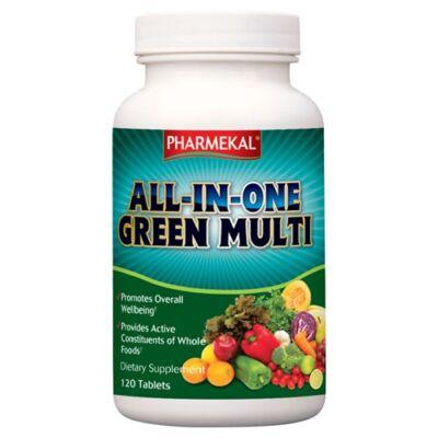 ALL-IN-ONE Green multi-vitamin komplex 120 db Pharmekal