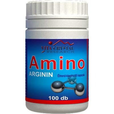 Amino Arginin kapszula 100db Vita Crystal