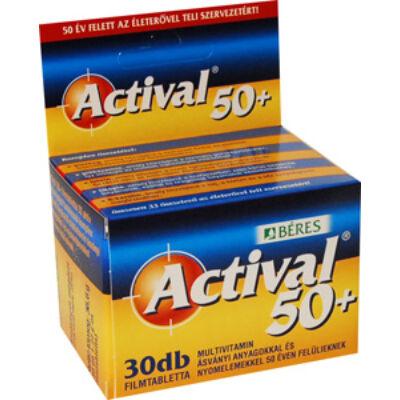 Béres Actival 50+ multivitamin 30db