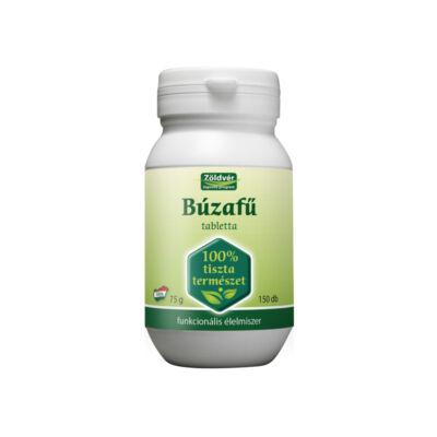 Búzafű tabletta 100% 150db Zöldvér