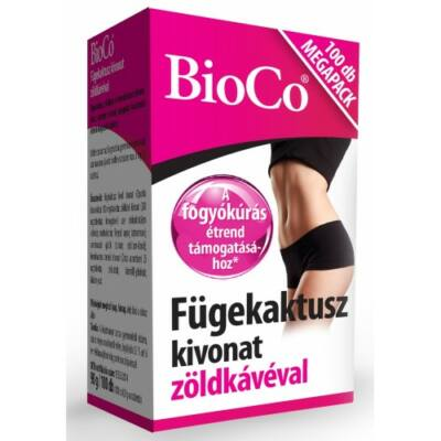 BioCo Fügekaktusz kivonat zöldkávéval 100db