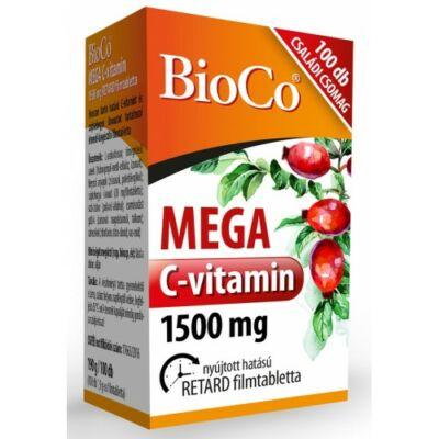 BioCo MEGA C-vitamin 1500 mg Családi csomag 100db