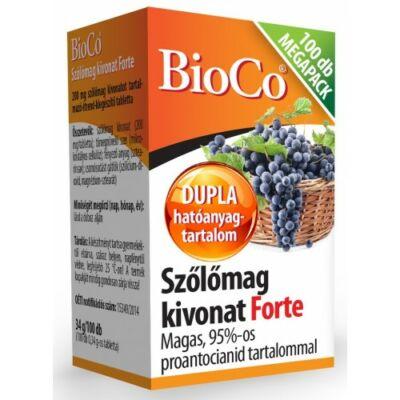 BioCo Szőlőmag kivonat Forte MEGAPACK 100db