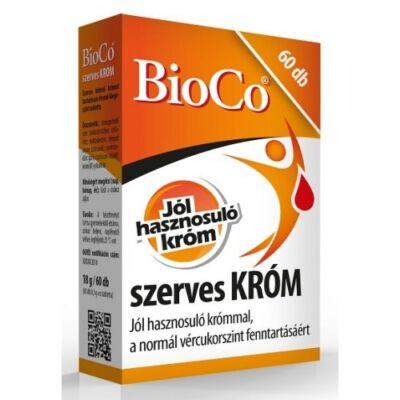 BioCo szerves KRÓM 250 µg 60db
