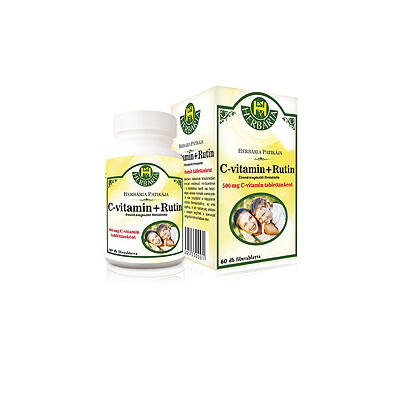 C-Vitamin + Rutin filmtabletta 60db Herbária