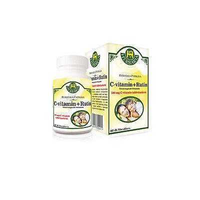 C-Vitamin + Rutin 60db Herbária