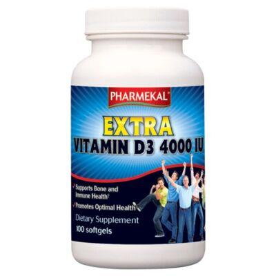 D3-Vitamin 4000 NE (4000 IU) 100db Pharmekal