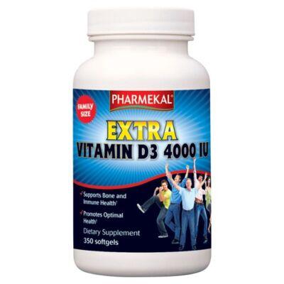D3-Vitamin 4000 NE (4000 IU) 350db Pharmekal