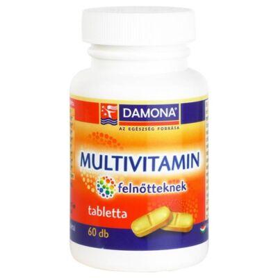 DAMONA Multivitamin felnőtteknek tabletta 60 db