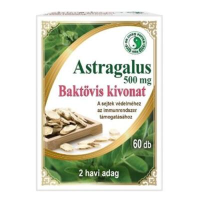 Dr.Chen Astragalus 500mg Baktövis (Kínai Csűdfű) kapszula 60db