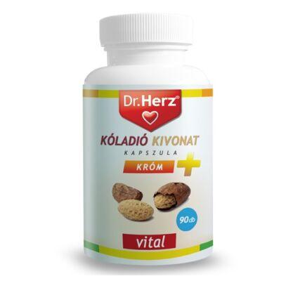 Dr.Herz Kóladió Kivonat + Króm kapszula 90db