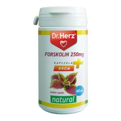 Dr.Herz Forskolin 250 mg kapszula 60 db