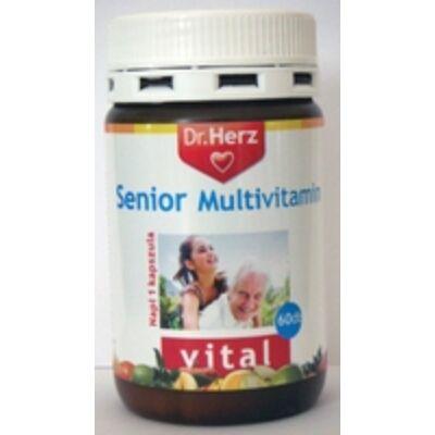 Dr. Herz Senior Multivitamin kapszula 60db