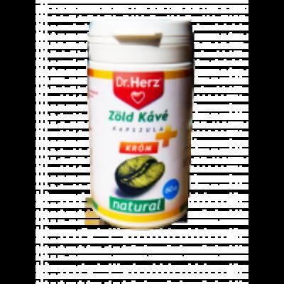 Dr. Herz Zöld Kávé + Króm kapszula 60db