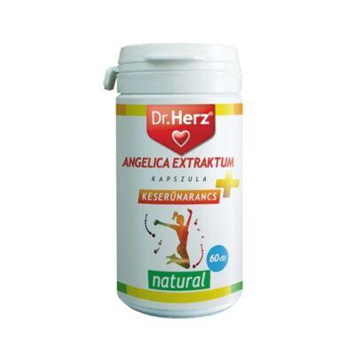 Dr. Herz Angelica Extraktum+Keserűnarancs 60 db kapszula