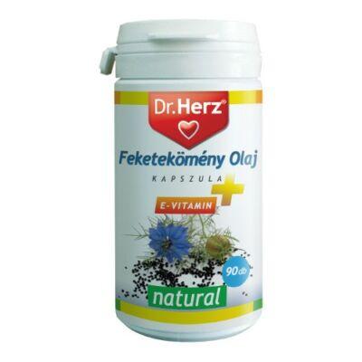 Dr. Herz Fekete kömény olaj 500 mg kapszula 90 db
