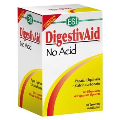 ESI Digestiv Aid No Acid savlekötő  tabletta 60 db