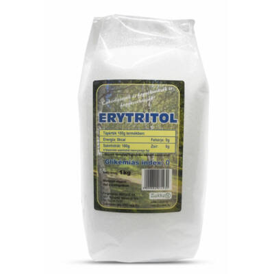 Zukker Eritritol (eritrit) 1000g Hofood