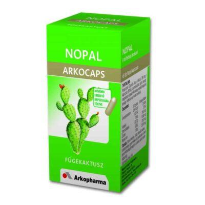 Arkocaps Nopal (Fügekaktusz) kapszula 45db
