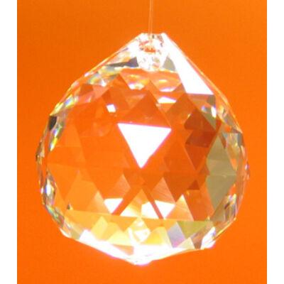 Gömb szivárványkristály - nagy (40mm)