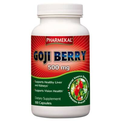 Goji Berry kapszula 500 mg 100db Pharmekal