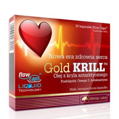 Gold Krill olaj kapszula 30db Olimp Labs