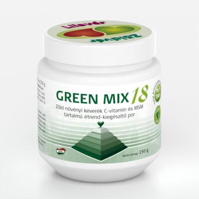 Green Mix 18 zöld növényi keverék por 150 g