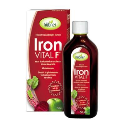 Hübner Iron Vital F szirup 250ml