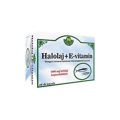 Herbária Halolaj+E-vitamin 1000mg kapszula 60db