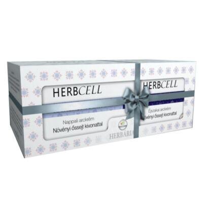 Herbcell nappali+éjszakai krém ajándékcsomag 2x50ml