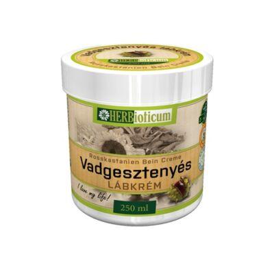 HERBioticum Vadgesztenyés lábkrém 250 ml
