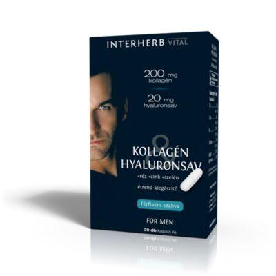 INTERHERB VITAL kollagén & hyaluronsav FOR MAN 30db