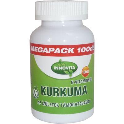 Innovita Kurkuma E-vitaminnal Megapack kapszula 100db