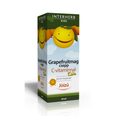Interherb GRAPEFRUITMAG csepp KIDS C-vitaminnal 20ml