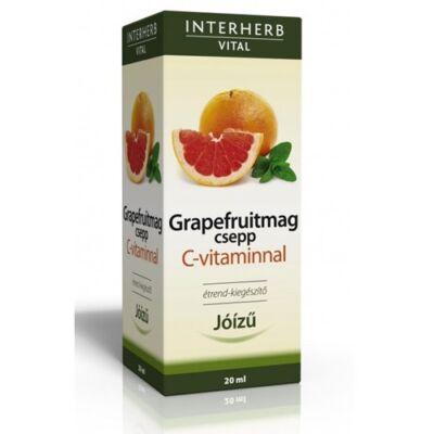 Interherb Vital GRAPEFRUITMAG csepp C-vitaminnal 20ml
