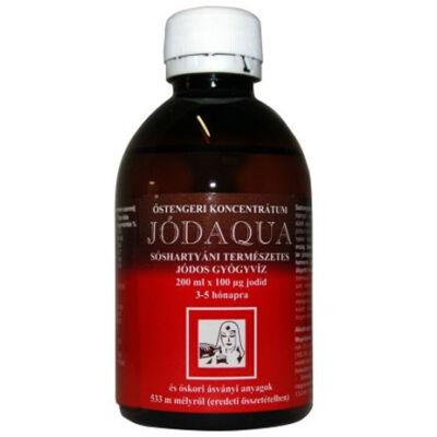 Jódaqua jódos gyógyvíz 200 ml