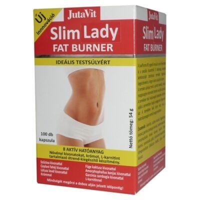 JutaVit Slim Lady zsírégető kapszula 100db
